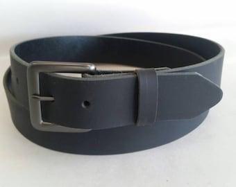 """1-1/2""""  Water Buffalo Full Grain  Leather Belt"""