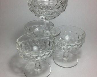 Fostoria American Regular Sherbet Cups - Set of 4