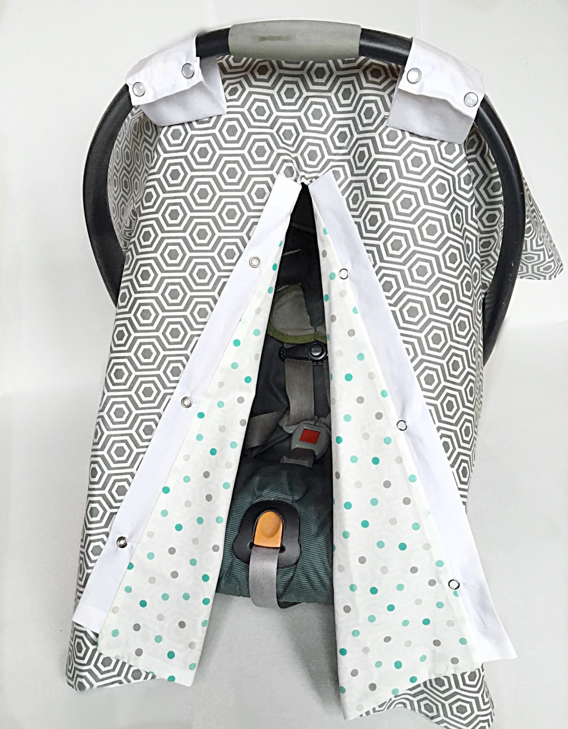 car seat canopy carseat cover baby carrier cover baby. Black Bedroom Furniture Sets. Home Design Ideas