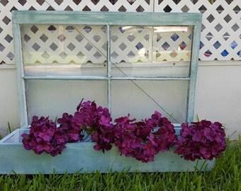 Upcycled Beachy Chic Window Box