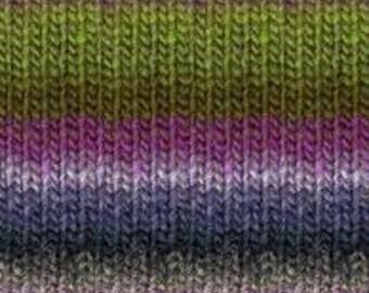 Noro Kureyon 100% Wool Knitting Yarn #188 Moss, Purples, Navy, Black, Grey