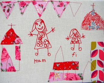 Personalised Fabric printed picture