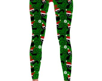 Christmas Cat Leggings