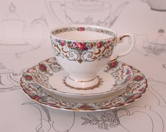 Tuscan Orleans Tea Cup Trio