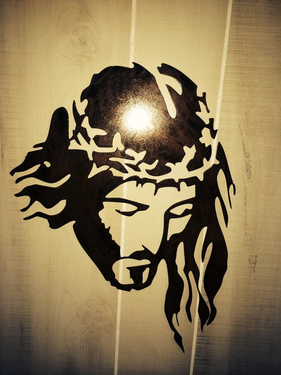Wall Decor Jesus : Jesus metal wall art