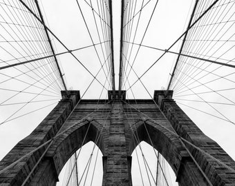 Photographic Print, Brooklyn Bridge