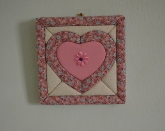 Heart picture or wall hanging
