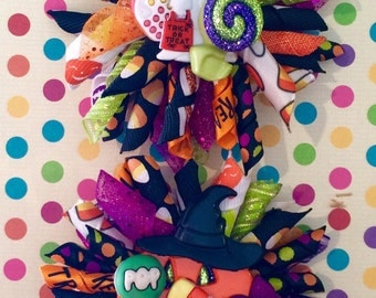 "Halloween Korker Bows, ""Trick or Treat!"""