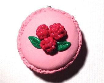 charm macaron miniature polymer clay