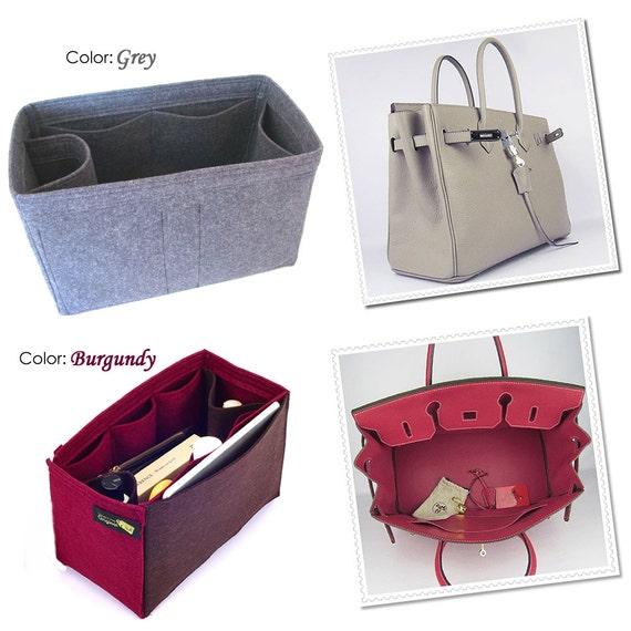 birkin bag prices - Bag Purse Organizer for Hermes Bags Felt Purse by OriginalClub