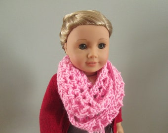 Pink scarf for American girl dolls
