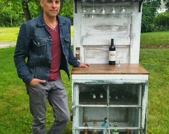 Wine Bar - Liquor Cabinet -  Local Pickup Only