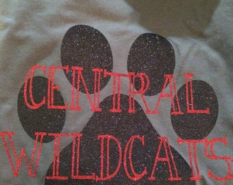 Central Wildcats School Spirit Shirt