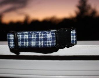 Blue Flannel Collar