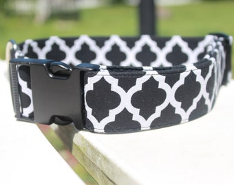 Black Patterned Collar