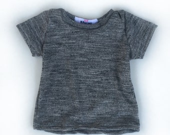 Organic cotton jersey knit T shirt