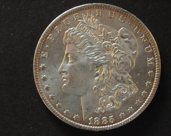 1885 O MORGAN SILVER DOLLAR Mint Uncirculated Gem