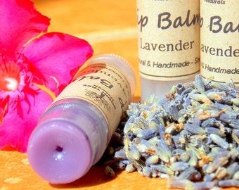 Lavender Lip Balm - Natural Lavender lip balm - Natural Lip balm - Handmade lip balm -  - Lavender Handmade lip balm