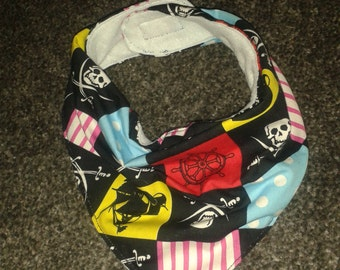 Baby dribble bib, bandana, pirate,