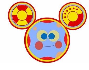 TOODLES - Mickey Mouse - Instant Download - Digital Printable Design - Toodles Printable