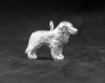 Sterling Silver Great Pyrenees Charm
