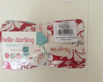 Hello Darling Fat Eighth Bundle by Bonnie and Camille