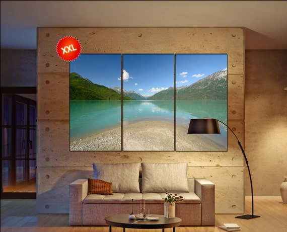 Lake Clark National Park  canvas Lake Clark National Park wall decoration Lake Clark canvas art large canvas  wall decor