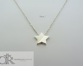 "star necklace - ""shade"""