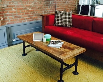 Industrial Pipe Coffee Table