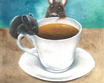 Tea Time - PRINT