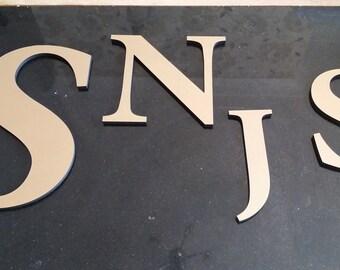 25cm Custom Gold Letters