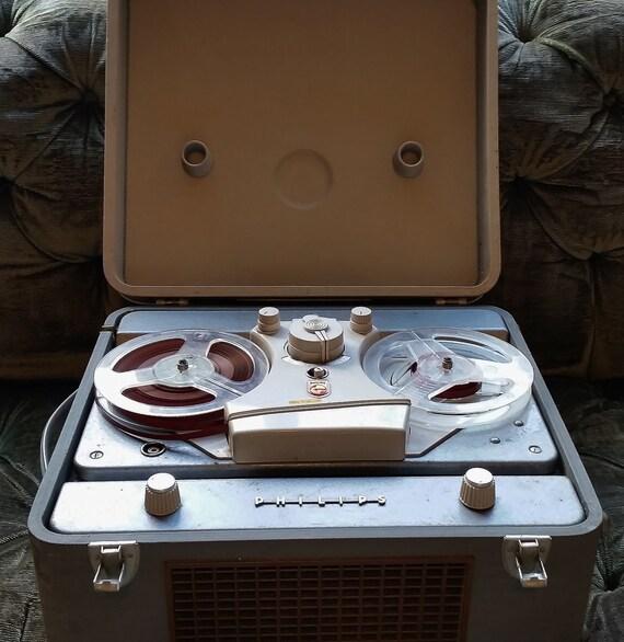vintage reel to reel tape recorder philips ag 8109 reel to. Black Bedroom Furniture Sets. Home Design Ideas