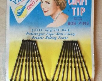 1950's kirby grips