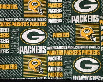 "Valance, Curtain Panel, Matching Pillow ""Green Bay Packers"""