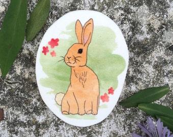 Woodland Rabbit Badge