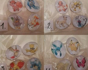 Refrigerator magnet, Magnets, Pokemon, Assorted, generation 1,  fridge magnets, party, favor, gifts,