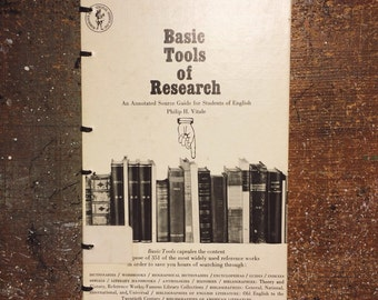 Hand-Bound Blank Journal: Basic Tools of Research