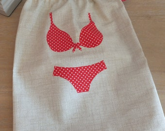 waterproof bikini bag