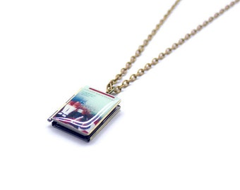 The Time Traveller's Wife by Audrey Niffenegger Book Necklace/Literary Necklace/Book Locket Necklace/Bookmark/Keyholder/Bag Charm/Bracelet