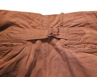Antique cinch back pants