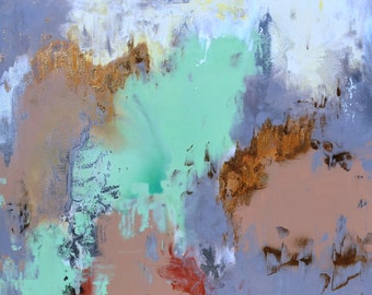 Natural Coloured Abstract Painting