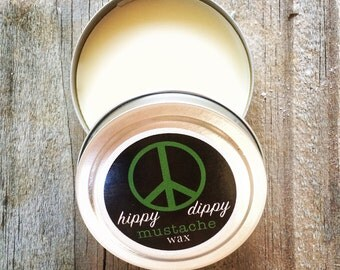 hippy dippy organic mustache wax