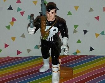 Vintage 1990s Marvel Comics Applause PVC Punisher Figure
