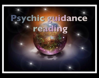 Psychic guidance reading