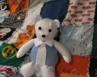 Keepsake Teddy Bear and Quilt