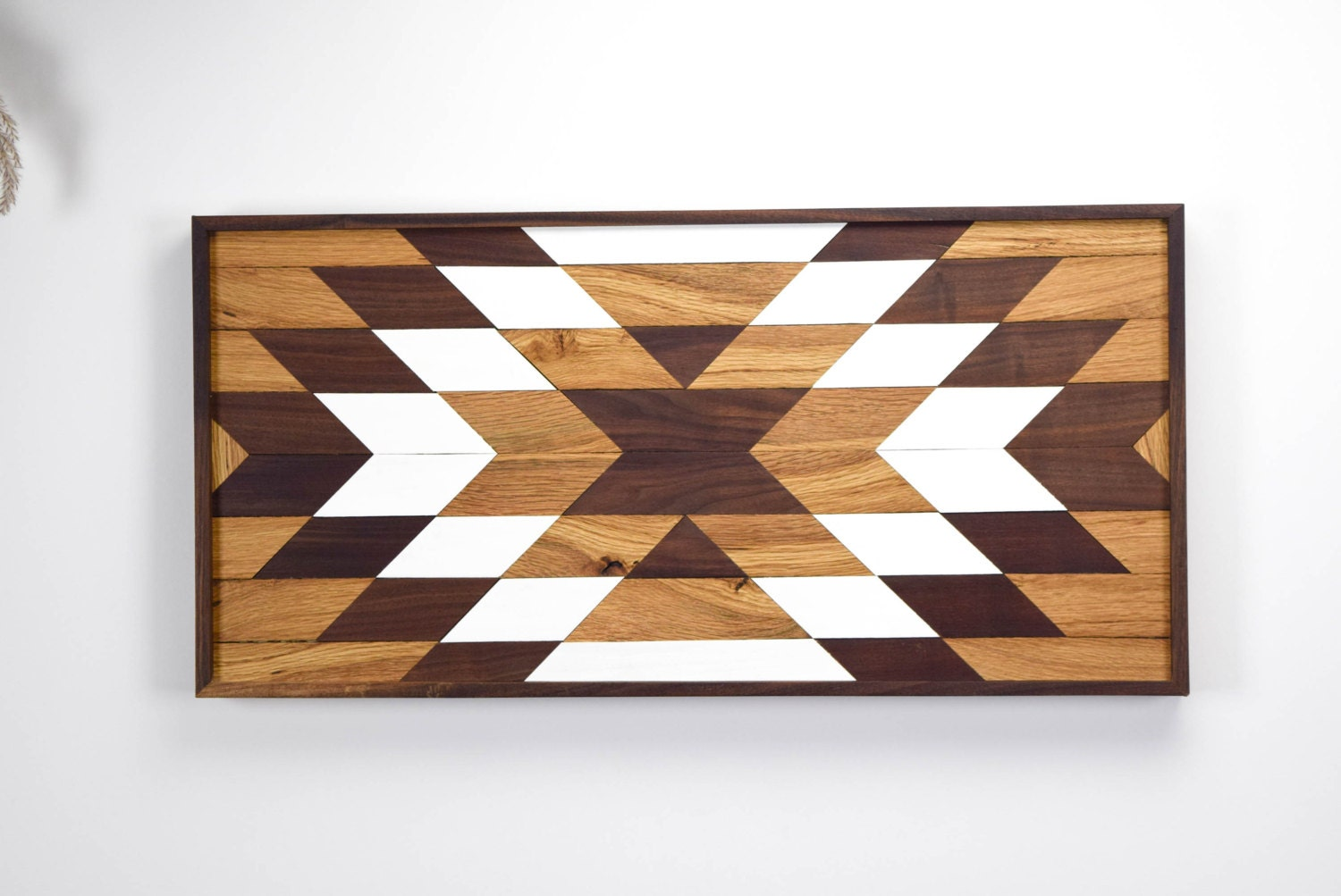 Wood Wall Art Wooden Wall Art Geometric Wood Art Wooden
