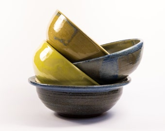 Bowl cereal Bowl, soup bowl, ceramic, hand-getoepfert
