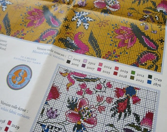 Sajou Museum & Heritage Toile du Jouy Embroidery Chart- Les Indiennes