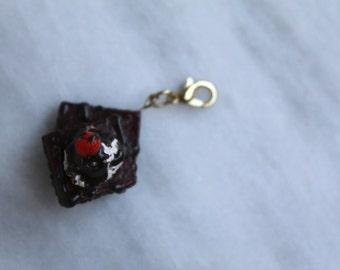 Miniature Brownie Sunday Charm