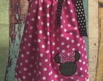 Pillow Case Dress, Birthday Dress